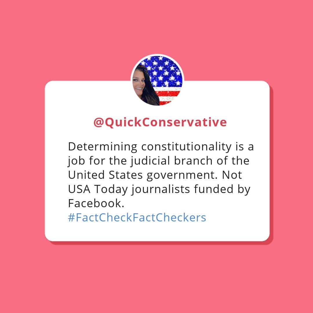 Fact Check Fact Checkers Quick Conservative
