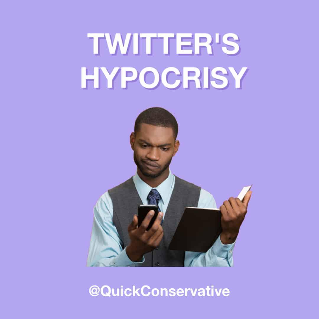 Twitter Hypocrisy Censorship