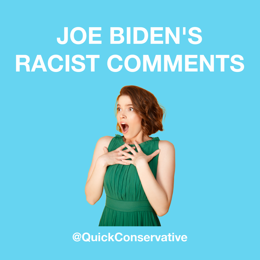 Joe Biden Racist Comments Cover
