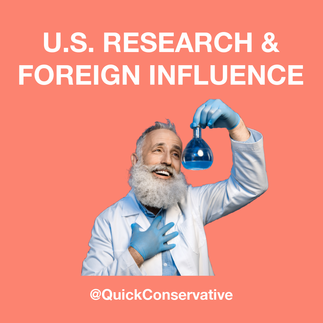 US Research Foreign Influence