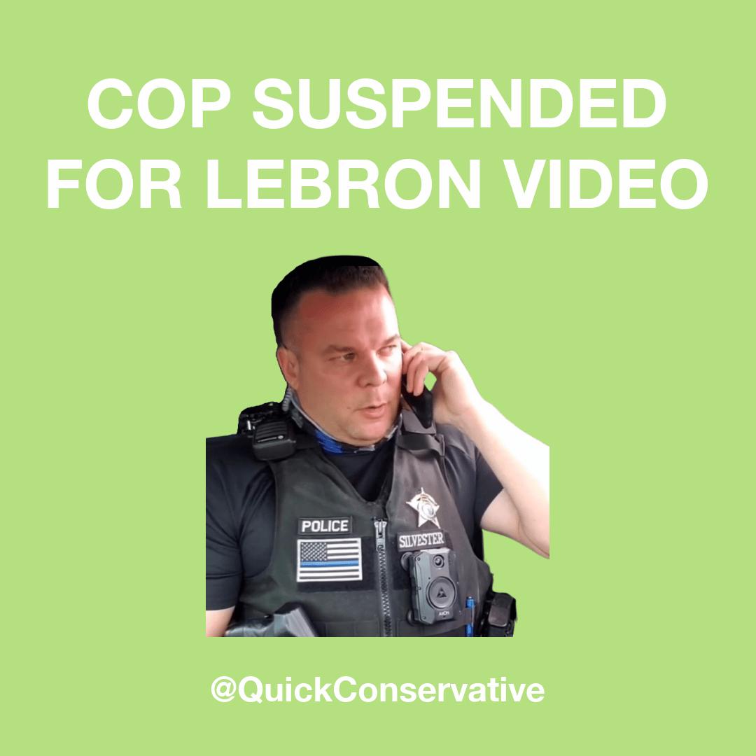 Cop Suspended Lebron Video