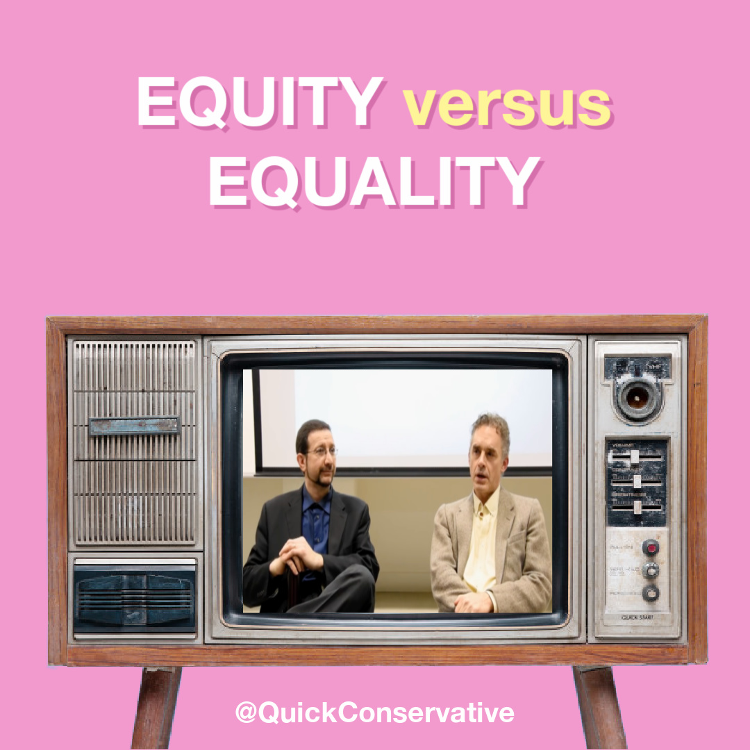 Jordan Peterson Equity Equality