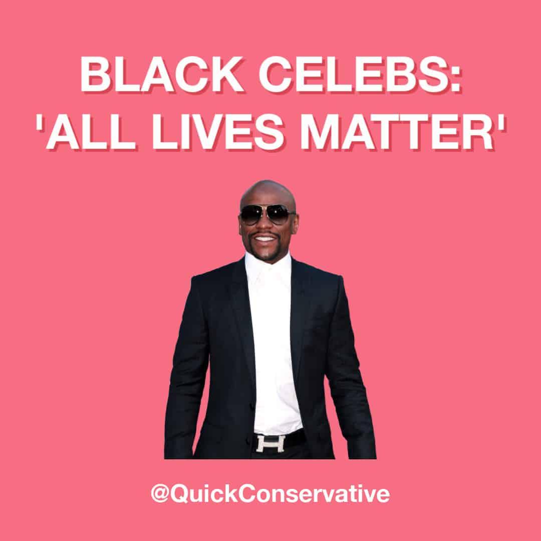 all lives matter black celebrities