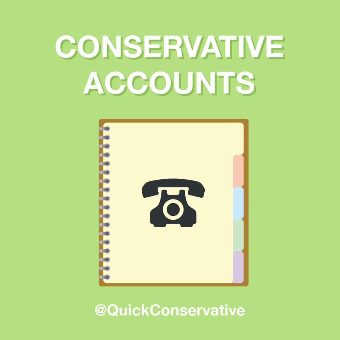 conservative accounts