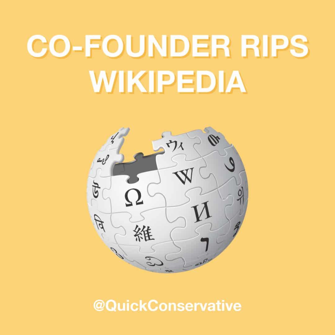 wikipedia cofounder liberal bias